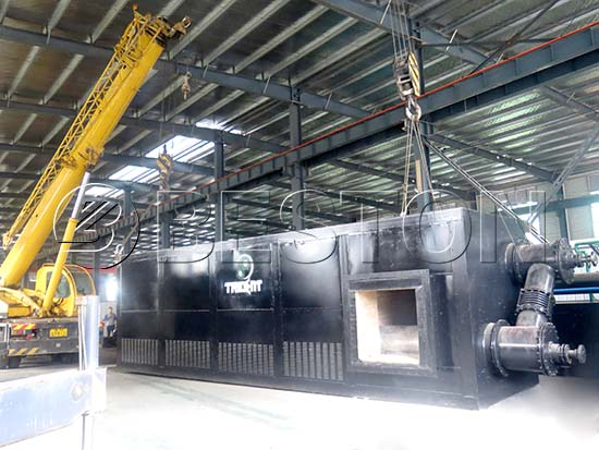 Waste Tyre Pyrolysis Oil Plant In South Africa
