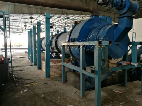 biochar pyrolysis equipment