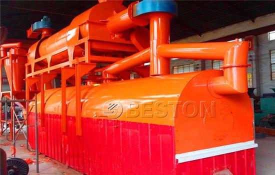 Beston Biomass Pyrolysis Machine for Sale