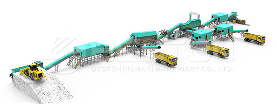 MSW Sorting Plant Design