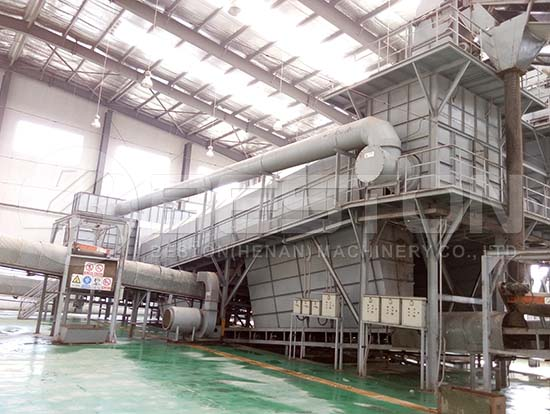 Waste Sorting Plant in China